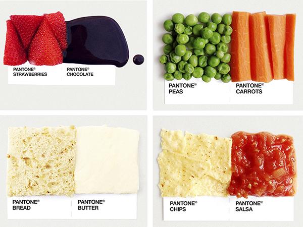 Pantones de comida